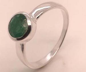 Smaragd facettiert
